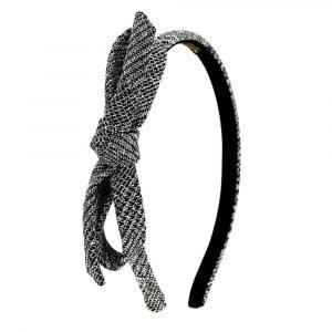 Alexandre de Paris - Haarreif CARDIGAN 1 cm silber THB10-11T-A21A